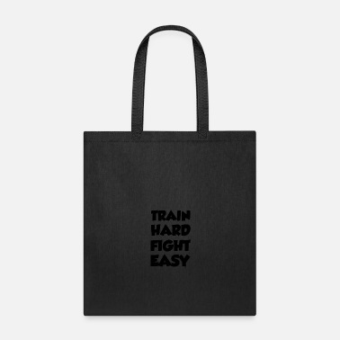 Jiujitsu train hard - Tote Bag