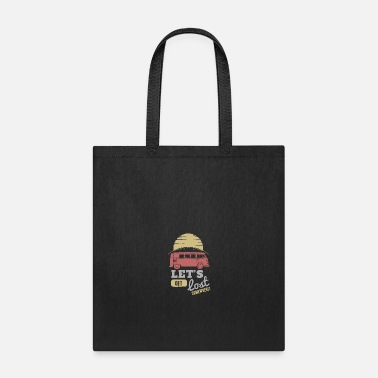 Coffee Lets get lost - Tote Bag