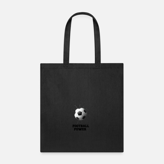 Bride Bags & Backpacks - GIFT - FOOTBALL - Tote Bag black