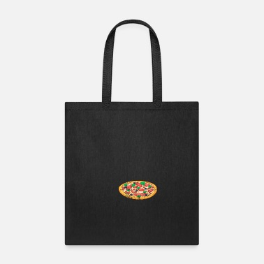 Restaurant Retro Vintage Grunge Style Pizza - Tote Bag