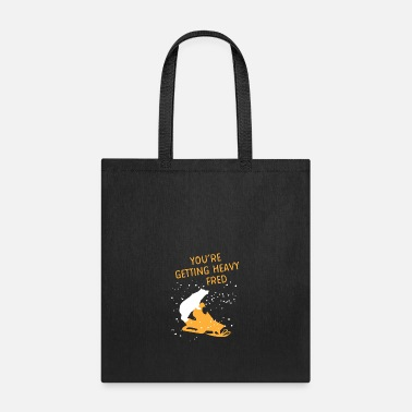 Ski Resort Snowmobile with heavy polar bear - Winter Sports - Tote Bag