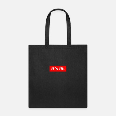 Get Turnt Up It's Lit Funny Summer Friend - Trendy Style - Tote Bag