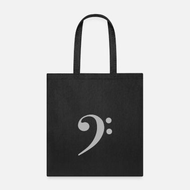 Bass Clef Bass - Tote Bag