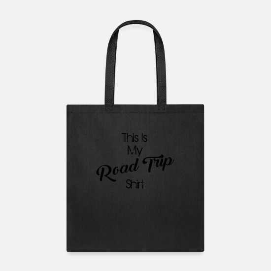 Road Bags & Backpacks - road trip - Tote Bag black