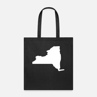 Comfy New York New York State Silhouette - Tote Bag