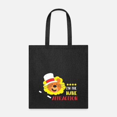 Mane Tracks I am The Mane Attraction - Tote Bag