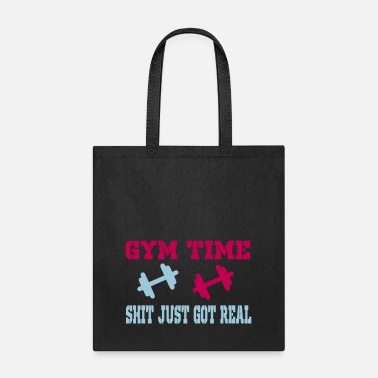 Funny Gym gym time - Tote Bag