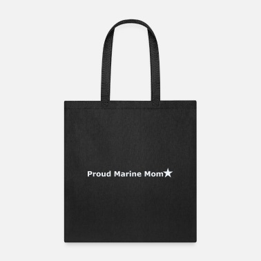 Marine Proud Marine Mom - Tote Bag