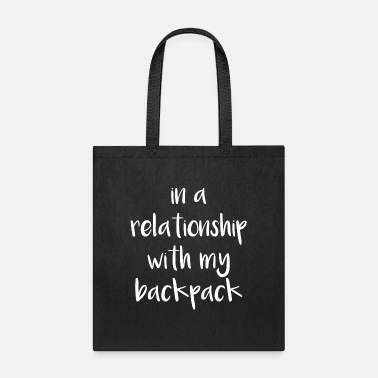 Cruise Relationship with my backpack - Love to travel - Tote Bag
