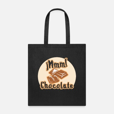 Sugar iMmm! Chocolate Milky Milk Chocolate Bar Sweet - Tote Bag