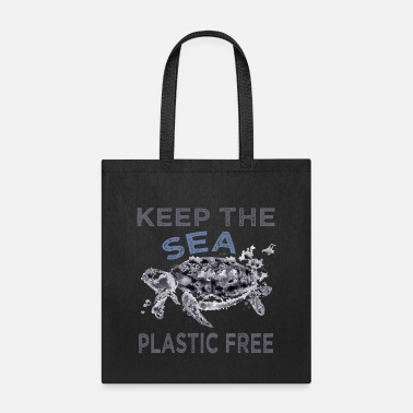 Our Keep The Sea Plastic Free - Tote Bag