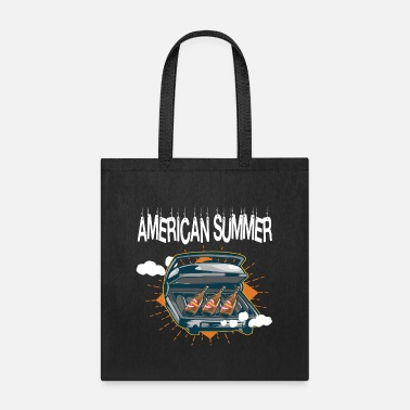 american beer fire grill gift idea fun - Tote Bag