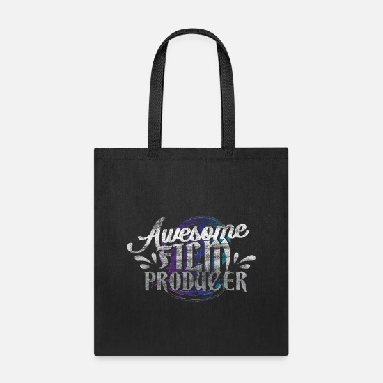 Art Bags & Backpacks - Film producer gift idea - Tote Bag black