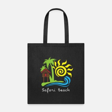 Beach Safari Beach - Tote Bag