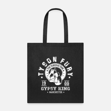 Detroit Tyson Fury Gypsy King Boxing Vintage Distressed - Tote Bag