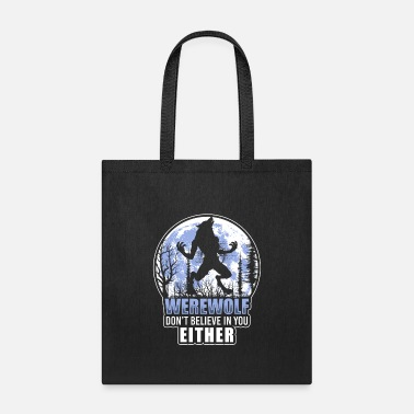 Wolfpack monster halloween scary - Tote Bag