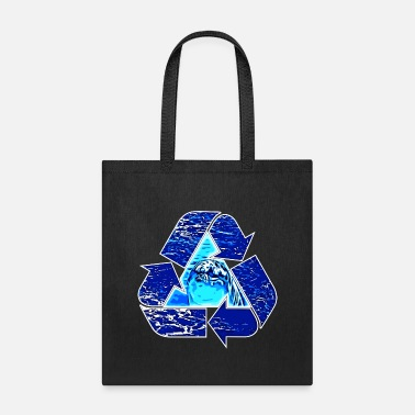 Dolphin Recycle - Tote Bag