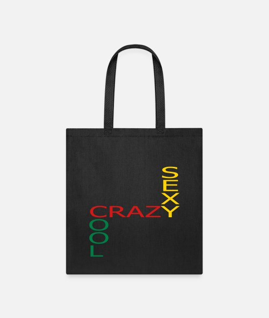 CRAZY SEXY COOL Bags & Backpacks - CRAZY SEXY COOL - Tote Bag black