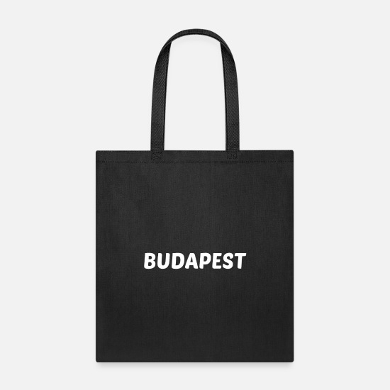 Hungarian Bags & Backpacks - Budapest - Tote Bag black