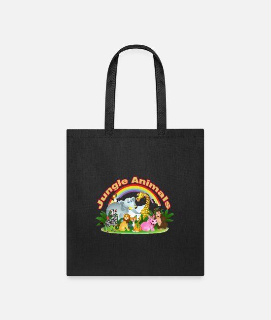 World Champion Bags & Backpacks - Animal - Tote Bag black
