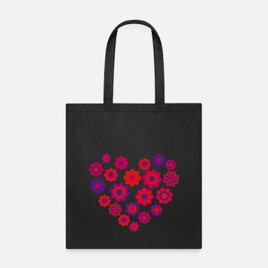 Blossom Heart by Cheerful Madness!! - Tote Bag