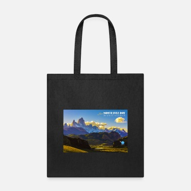 Vintage Monte Fitz Roy Travel Poster - Tote Bag