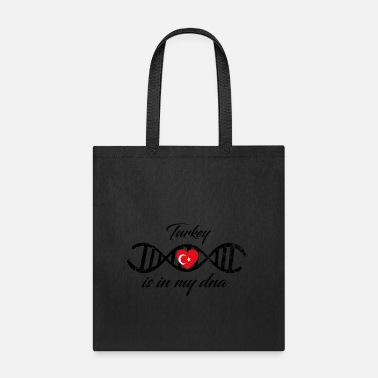 Country love my dns dna land country Turkey - Tote Bag