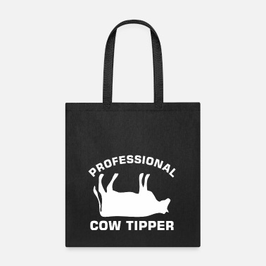 Cow Proffessional Cow Tipper Tipping Dairy Farm - Tote Bag