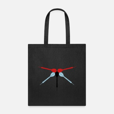 Dart Club Arrow club logo play dart club throw dart arrow sport fu - Tote Bag
