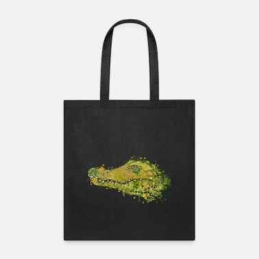Animal Collection Crocodile Graffiti - Tote Bag