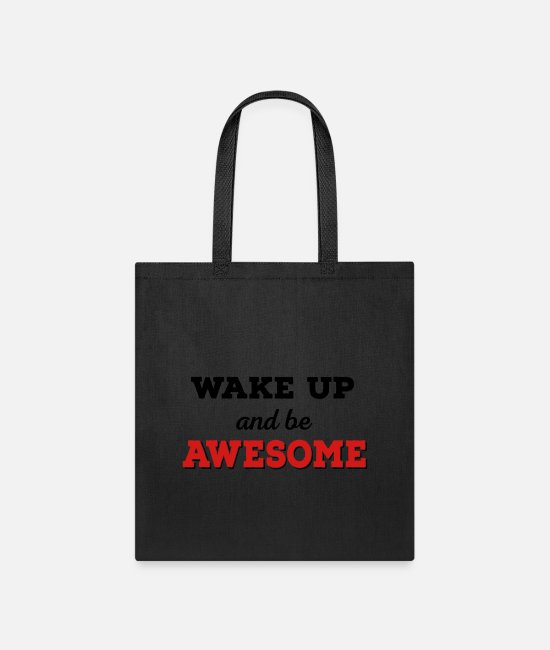 Awesome Bags & Backpacks - awesome - Tote Bag black