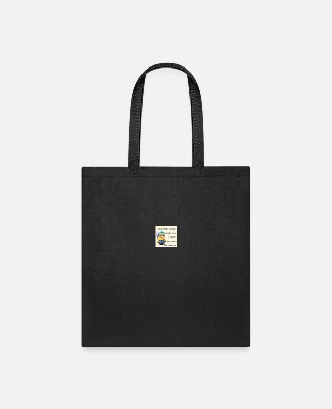 Mistake Bags & Backpacks - mistake - Tote Bag black