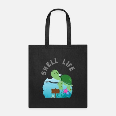 Shell Life: Introverts Only - Tote Bag