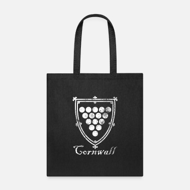 Dialect Cornwall Distressed Medieval Cornish Kernow Shield - Tote Bag