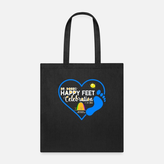 Feet Bags & Backpacks - Happy Feet 2018 FINAL - Tote Bag black
