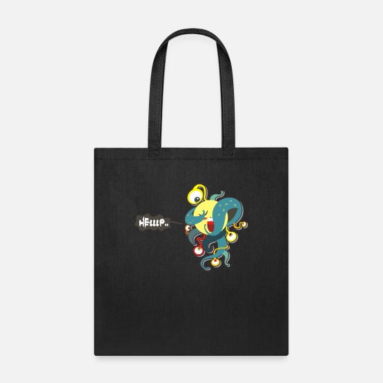 Movie Bags & Backpacks - mind invasion - Tote Bag black