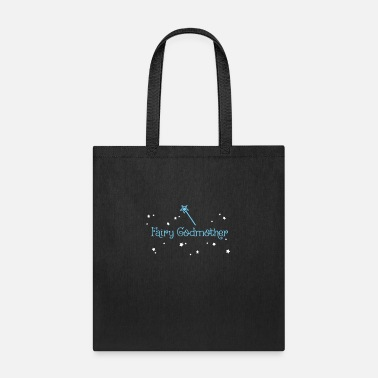 Fairy Tale Figure Fairy Godmother - magic wand with stars - Tote Bag