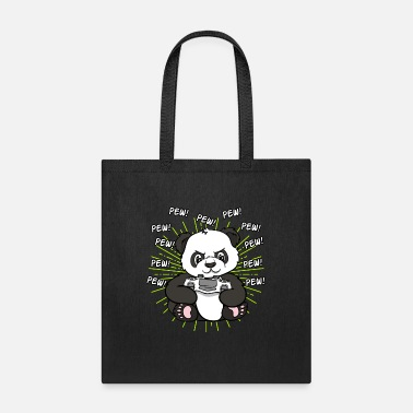 Asian Panda Pandas Gambling Gaming Gamer Gift - Tote Bag