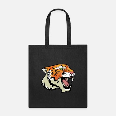 Growl Growling Tiger - Tote Bag