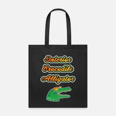 Hip Meme Interior Crocodile Alligator Funny Gift - Tote Bag