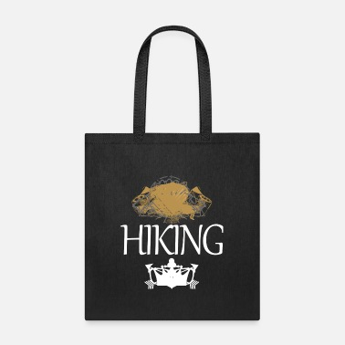 Personalized HIKING: Bring A Compass - Tote Bag