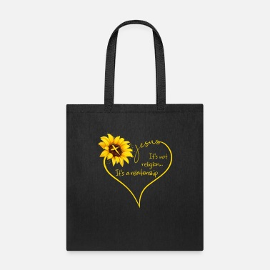 Religion Jesus It's Not Religion It's A Relationship - Tote Bag