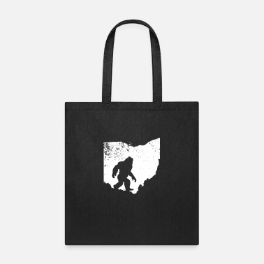 Ape Bigfoot Sasquatch Sighted In State Of Ohio - Tote Bag