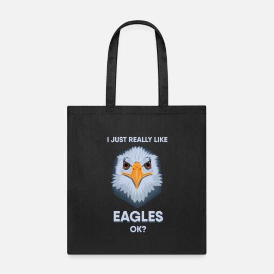Uncle Bags & Backpacks - Just LIke American Bald Eagle USA Gift Idea - Tote Bag black