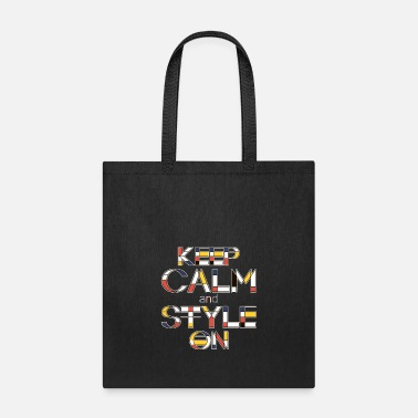 Style Keep Calm And Style On V2 - Tote Bag