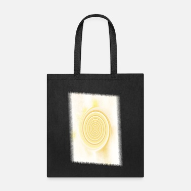 Schwarz Light vortex - Tote Bag