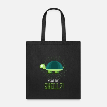 Turtle Doves Funny Turtle Ocean Shell Environment Reptile - Tote Bag