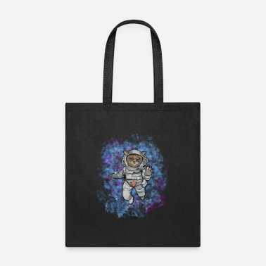 Tag LULU THE CAT ASTRONAUT - Tote Bag