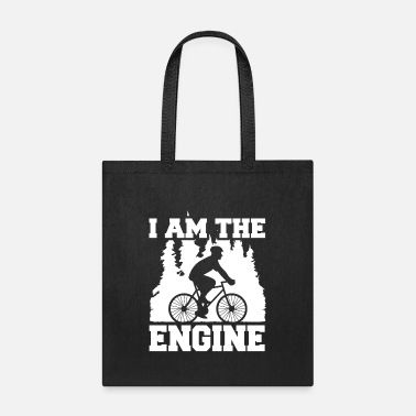 Bmx I'm The Motor Cyclist Forest Saying - Tote Bag
