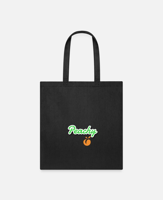 Illustration Bags & Backpacks - Peachy - Tote Bag black